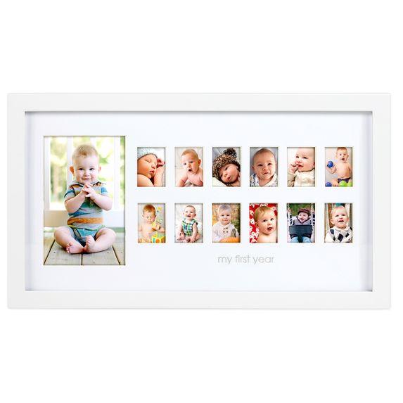 """Рамка для фото """"Как я рос"""", арт. P63008, цвет Белый"""