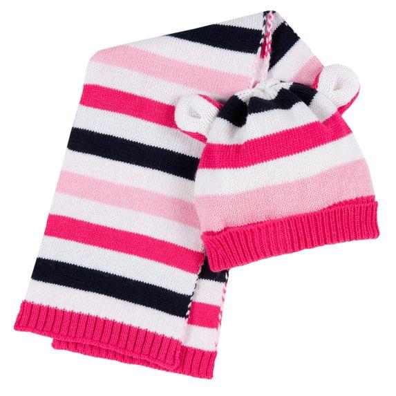 Комплект Chicco Pink bear: шапка и шарф , арт. 090.04724.018, цвет Розовый