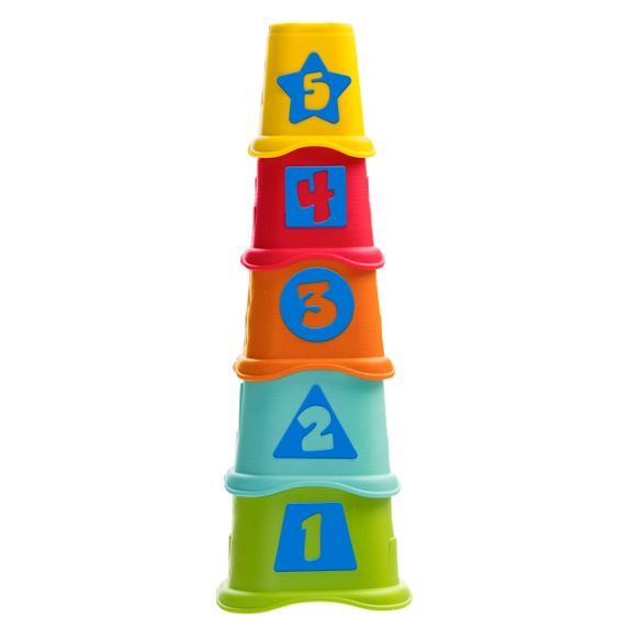 """Пирамидка–сортер Chicco """"Stacking Cups"""", арт. 09373.00"""