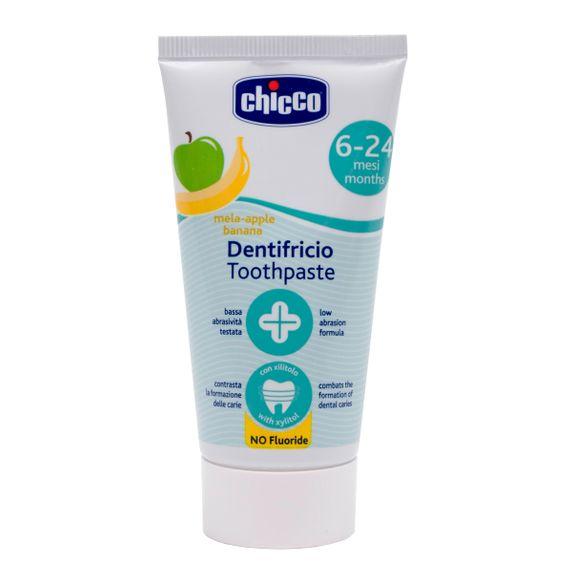 "Зубная паста Chicco ""Яблоко/Банан"", 50 мл, арт. 02320"
