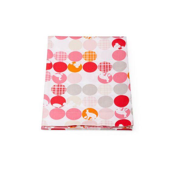 Простынь Stokke Sleepi Mini для люльки, 100х100 см, арт. 2542, цвет Silhouette Pink