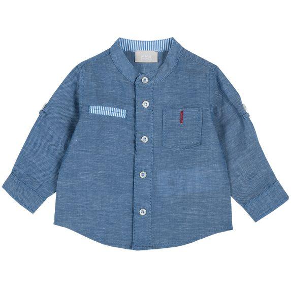 Рубашка Chicco Little captain, арт. 090.54467.085, цвет Синий