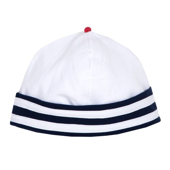 Шапка Chicco Little sailor, арт. 090.04643.038, цвет Синий с белым