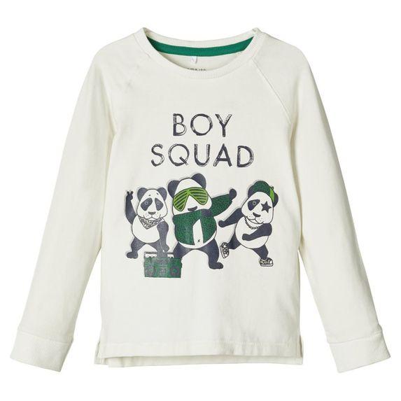 Реглан Name it Boy squad, арт. 203.13173188.SWHI, цвет Белый