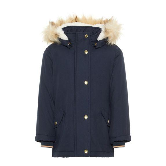 Куртка-парка Name it Bridget, арт. 193.13167886.DSAP, цвет Синий