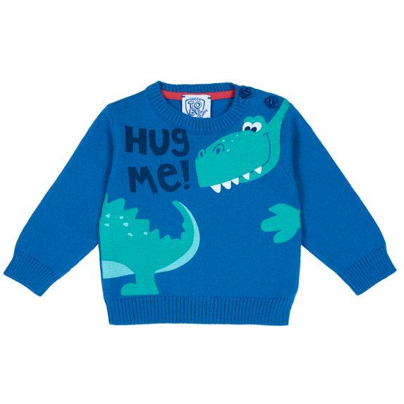 Пуловер Chicco Hug me, арт. 090.69413.085, цвет Голубой