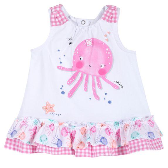 Платье Chicco Jellyfish, арт. 090.03590.031, цвет Розовый