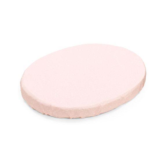 Простынь Stokke для люльки, 53x73 см, арт. 1049, цвет Pink Bee