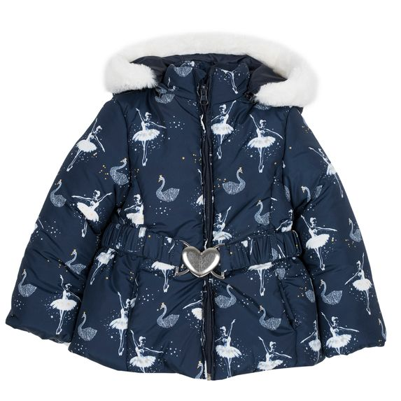 Куртка Chicco Ballet, арт. 090.87464.086, цвет Синий