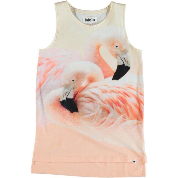 Майка Molo Ro Flamingo Dream, арт. 2S19A101.5360, цвет Розовый