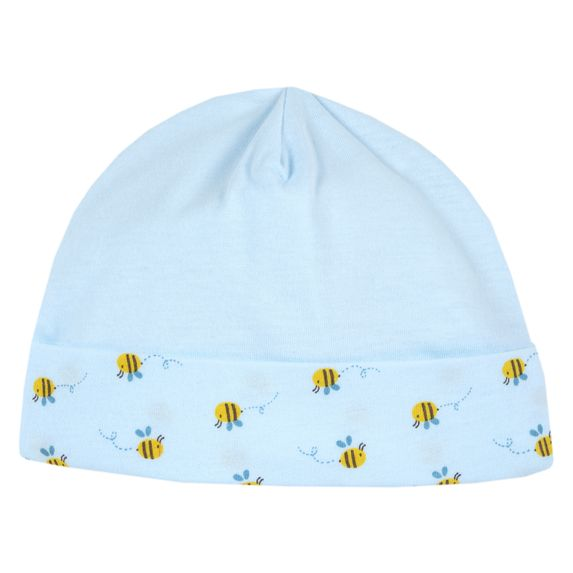 Шапка Chicco Bee & Bear, арт. 090.04646.021, цвет Голубой