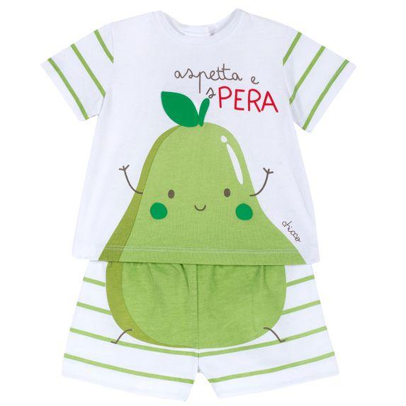 Костюм Chicco Pear: футболка и шорты, арт. 090.76381.051, цвет Светло-зеленый