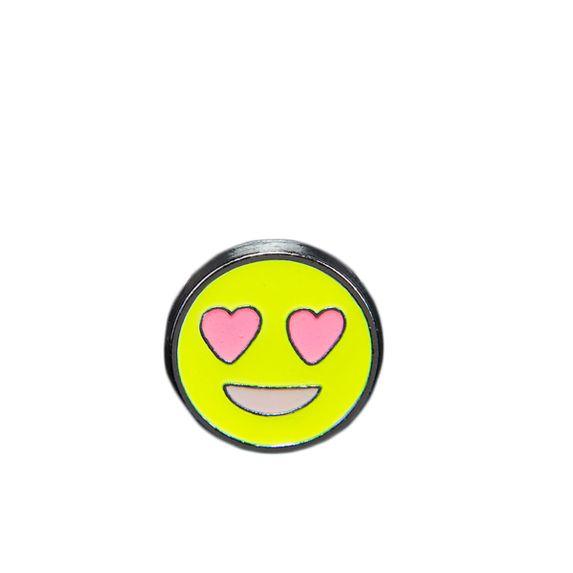 "Эмодзи Tinto ""Emoji heart eyes"", арт. AC2228.1, цвет Желтый"