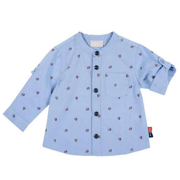Рубашка Chicco Sailing time, арт. 090.54519.021, цвет Голубой