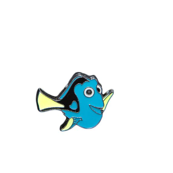 "Эмодзи Tinto ""Dory fish"", арт. AC2231.1, цвет Голубой"