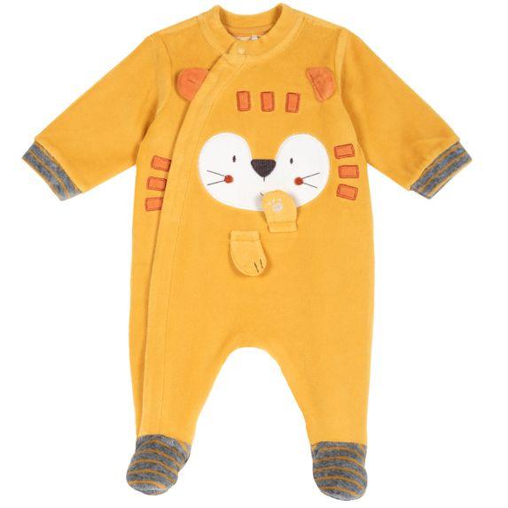 Комбинезон велюровый Chicco Lionet, арт. 090.21563.042, цвет Оранжевый