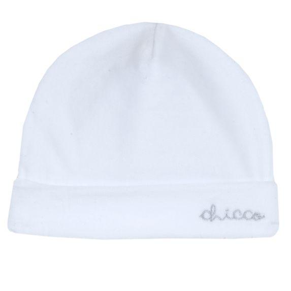 Шапка велюровая Chicco Baby (белая), арт. 090.04647.033, цвет Белый