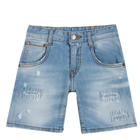 Шорты джинсовые Chicco Winner, арт. 090.52871.025, цвет Голубой