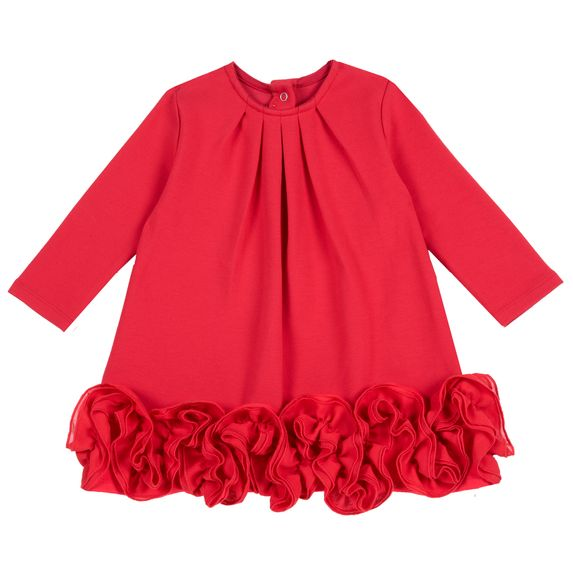 Платье Chicco Sweet rose, арт. 090.03134.075, цвет Красный