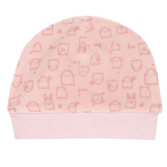 Шапка велюровая Chicco Animal (розовая), арт. 090.04059.011, цвет Розовый