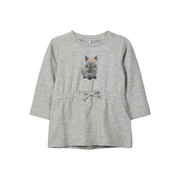 Туника Name it Bunny (серая), арт. 13161826.GMEL, цвет Серый