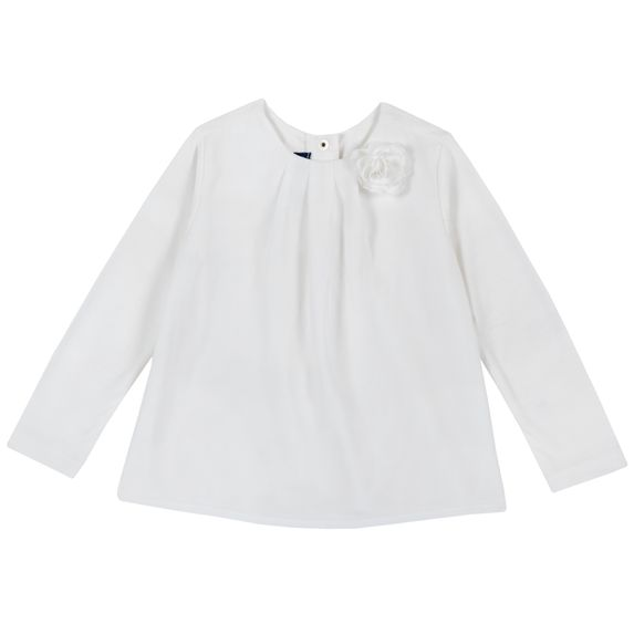 Блузка Chicco Fashion, арт. 090.06815.030, цвет Белый