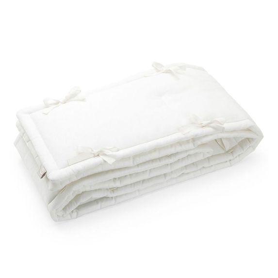 Защита (бампер) Stokke Sleepi для кроватки, 27х366 см, арт. 1055, цвет Белый