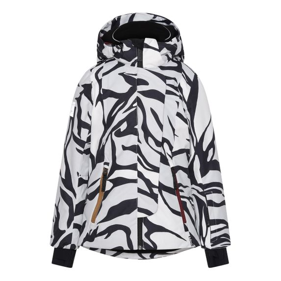 Термокуртка горнолыжная Molo Pearson Graphic Tiger, арт. 5W20M311.6134, цвет Черно-белый