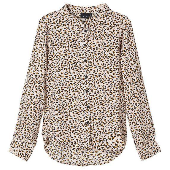 Рубашка Name it Maila, арт. 203.13180415.SWHI, цвет Бежевый