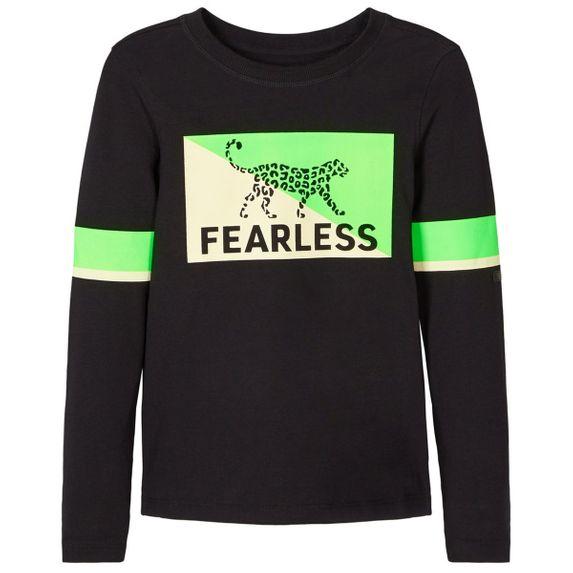 Реглан Name it Fearless Black, арт. 203.13181147.BLAC, цвет Черный
