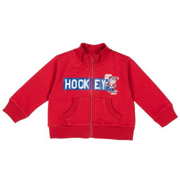 Кардиган Chicco Hockey, арт. 090.96250.075, цвет Красный
