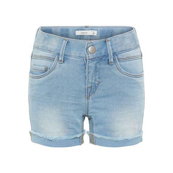 Джинсовые шорты Name it  Good style , арт. 13160512.LBLU, цвет Голубой