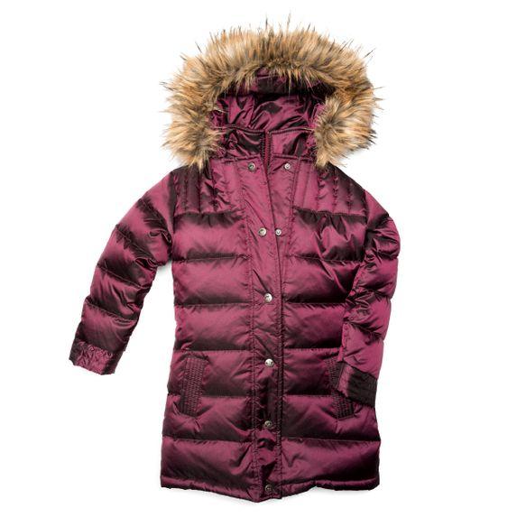 Куртка пуховая Appaman Amy, арт. 193.U5LD.cry, цвет Бордовый