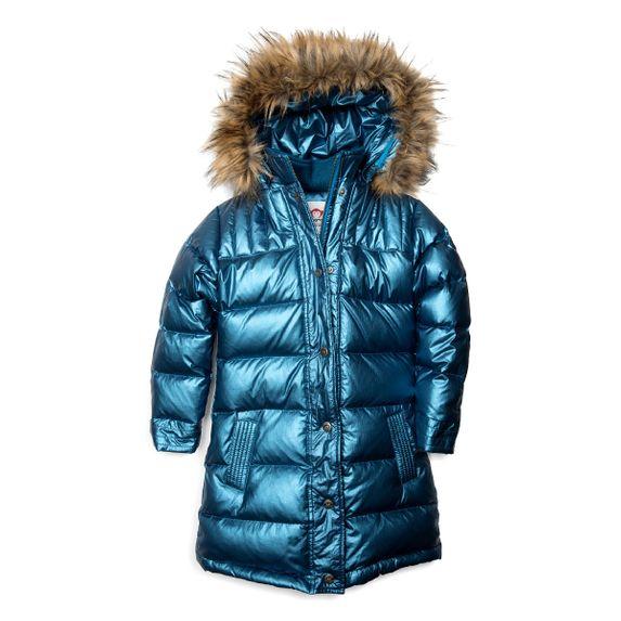 Куртка пуховая Appaman Aria, арт. 193.U5LD.mtb, цвет Голубой
