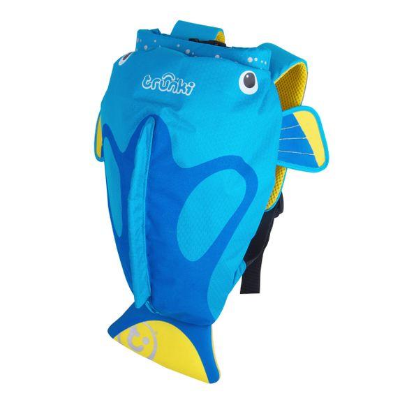 "Детский рюкзак Trunki ""Tang Fish Blue"", арт. 0173-GB01, цвет Голубой"