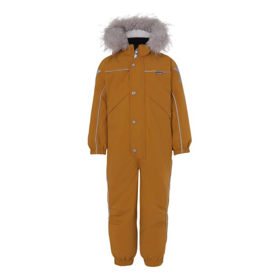 Термокомбинезон горнолыжный Molo Polaris Fur Recycle Autumn Leaf, арт. 5W20N206.8066, цвет Оранжевый