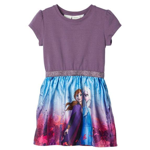 Платье Name it Frozen, арт. 201.13176195.BPLU, цвет Фиолетовый