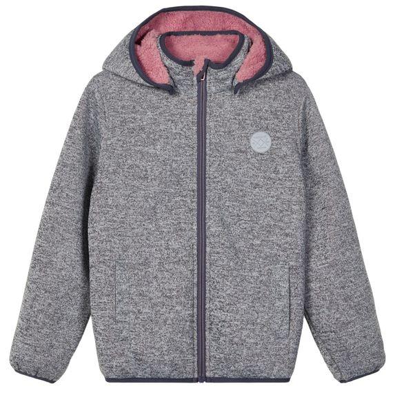 Куртка Name it Una, арт. 203.13178029.BLUS, цвет Серый