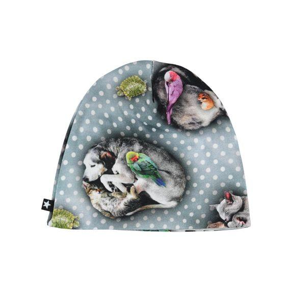 Шапка Molo Nedine Pets'n Dots, арт. 7W19T201.4872, цвет Серый