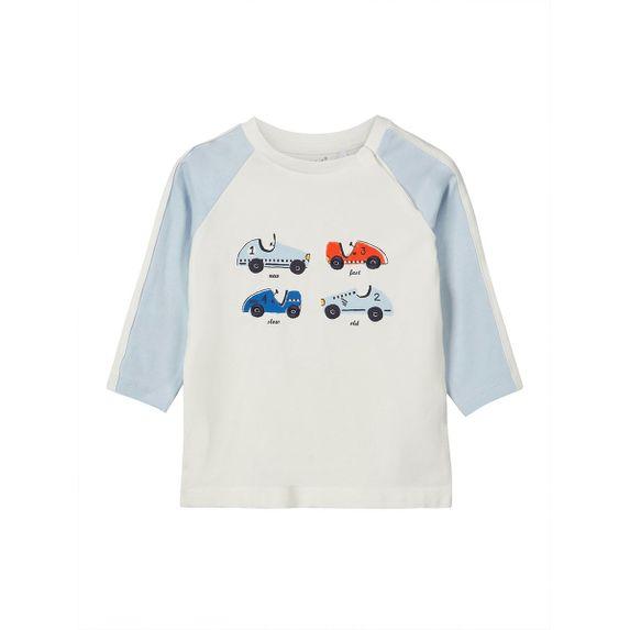 Реглан Name it Cars (белый), арт. 13160517.SWHI, цвет Белый