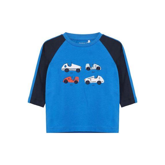 Реглан Name it Cars (синий), арт. 13160517.SBLU, цвет Синий