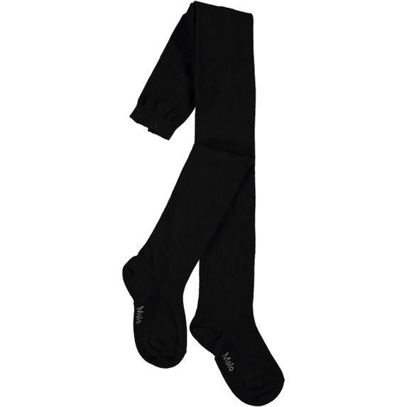 Колготы Molo Solid Tights Black, арт. 7W19G202.0099, цвет Черный