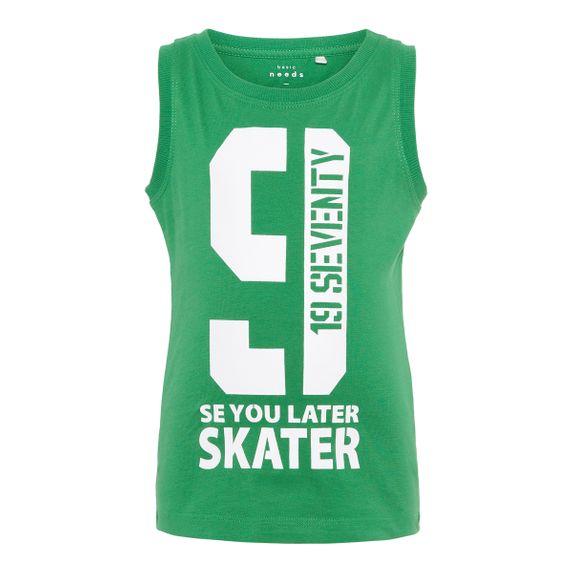 Майка Name it Skater, арт. 13161728.MGRE, цвет Зеленый