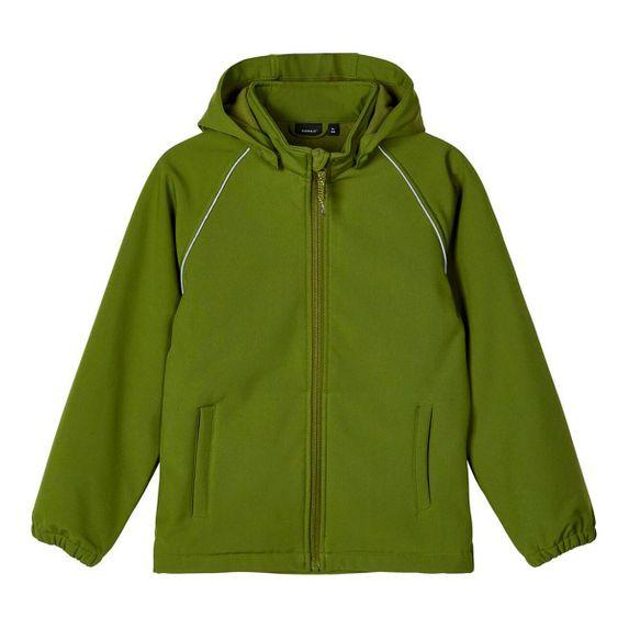 Куртка Softshell Name it Murray, арт. 201.13174222.PEST, цвет Зеленый