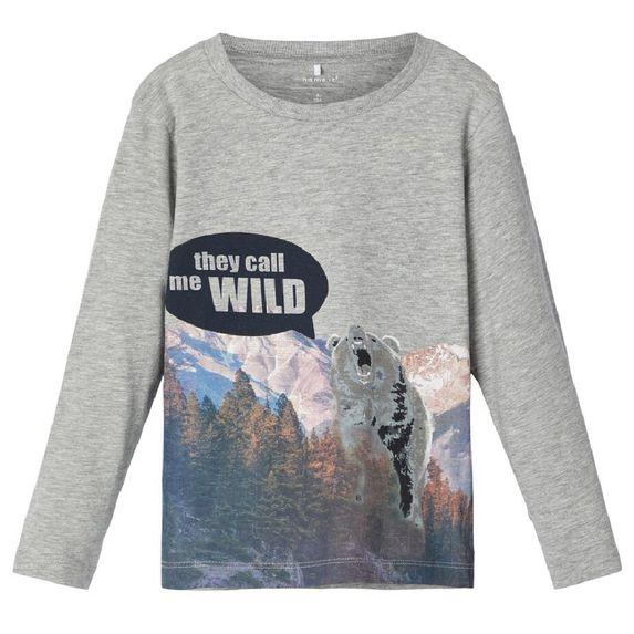 Реглан Name it Wild bear, арт. 193.13168463.GMEL, цвет Серый