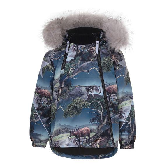 Термокуртка Molo Hopla Fur Creation, арт. 5W20M304.6137, цвет Синий