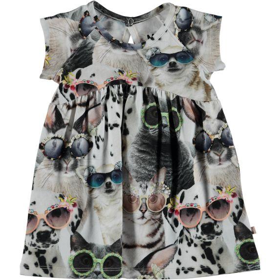 Платье Molo Cille Sunny Funny, арт. 4S19E117.4182, цвет Серый