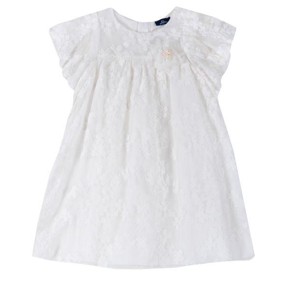 Платье Chicco Brittany, арт. 090.03733.030, цвет Белый