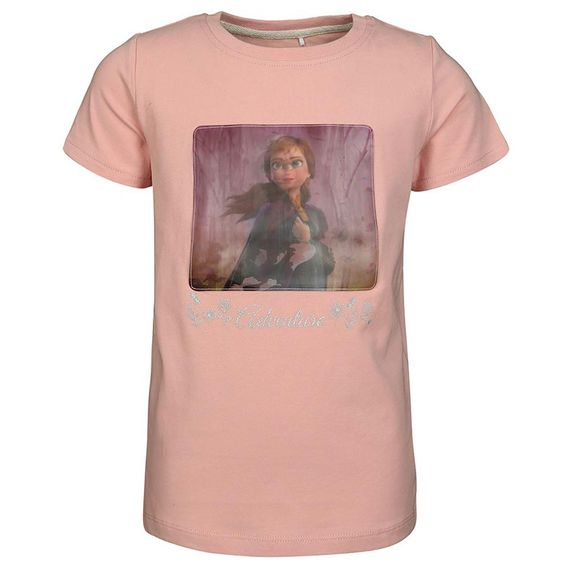 Футболка Name it Anna & Elsa, арт. 201.13176796.SPIN, цвет Розовый