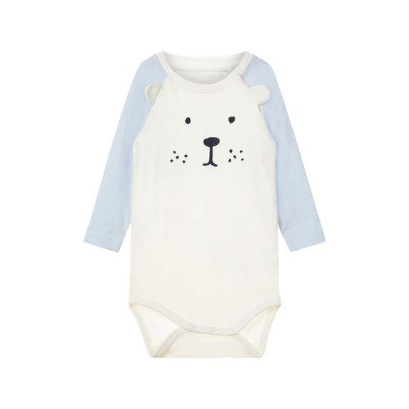 Боди Name it Teddy bear (белый), арт. 13163203.SWHI, цвет Белый
